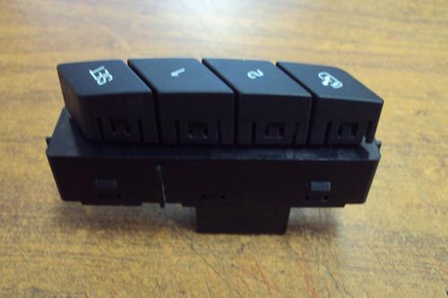 switch de memoria 23103409  cadillac cts 14-16 negro mate