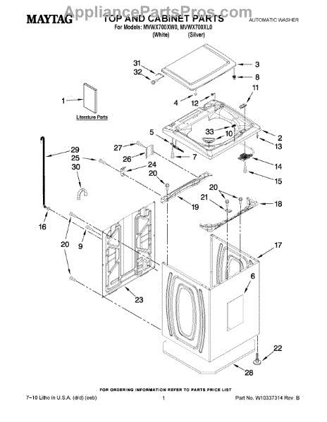 Switch de tapa lavadora whirlpool latch en