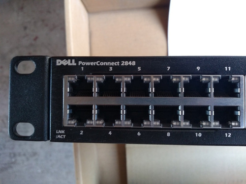 switch dell powerconnect 2848, 48 puertos