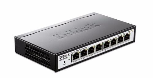 switch dlink dgs-1100-08 8 puertos gigabit administrable