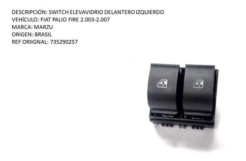 switch elevavidrio fiat palio fire 2.003-2.007