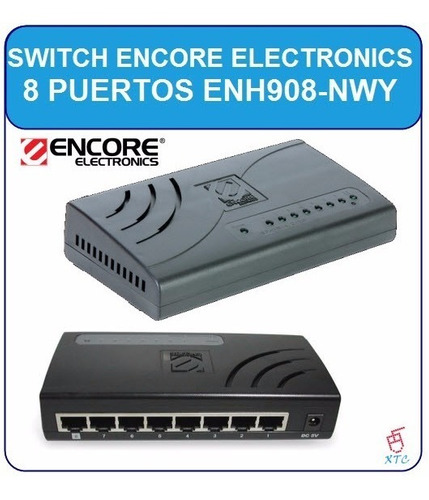 switch encore puertos red