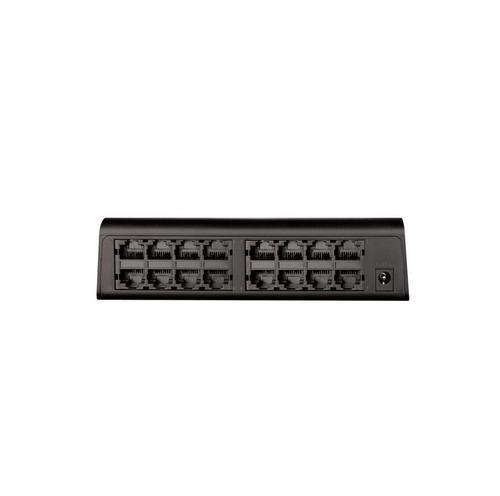 switch escritorio de 16 puertos d-link des1016a 10/100mbps