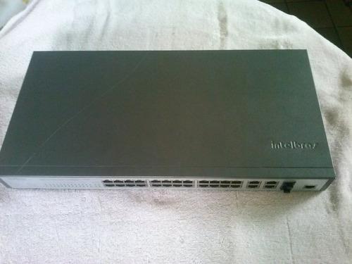 switch gerenciável sf2842mr intelbrás