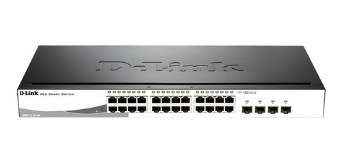 switch gigabit 28p d-link 24 10/100/1000 + 4 sfp