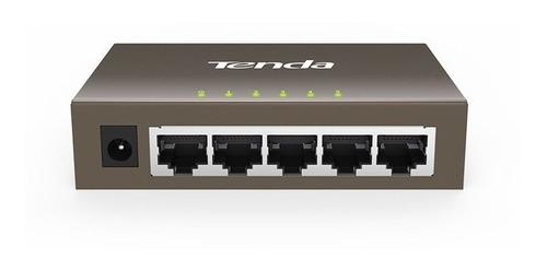switch gigabit 5 puertos teg1005d tenda