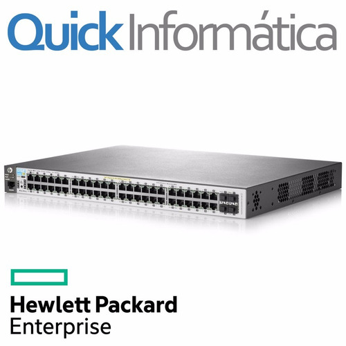 switch hp 48 port gigabit 10/100/1000 2530-48g poe j9772a
