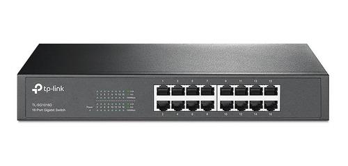 switch hub de 16 puertos tp link tl sg1016d gigabit gbe rack