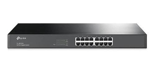 switch hub rack 16 puertos tp link tl sg1016 lan gigabit gbe