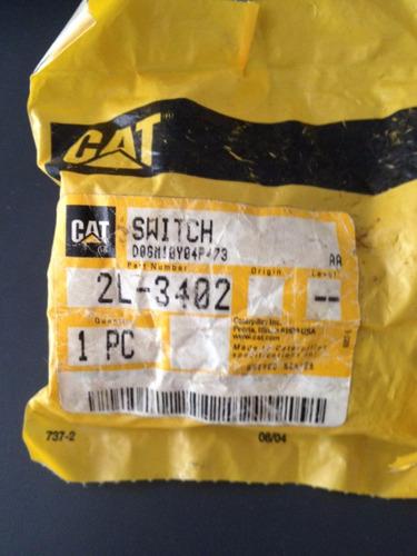 switch interruptor caterpillar 2l3402 2l-3402 3406b 3500