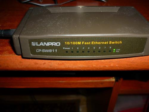 switch lampro 8 puertos lp-sw811