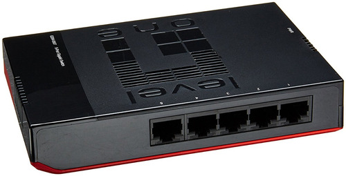 switch levelone 5-port gigabit desktop/wall mountable