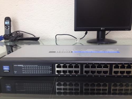switch linksys 24 puertos