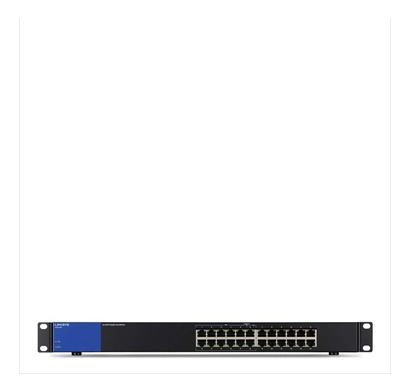 switch linksys lgs124p 24 port poe - tecsys