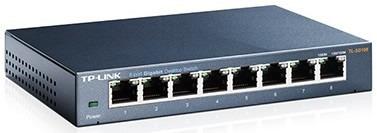 switch mesa 8 portas giga 10/100/1000mbps tl-sg108 tp-link