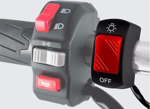 switch moto on / off luces exploradoras x12 uds por mayor