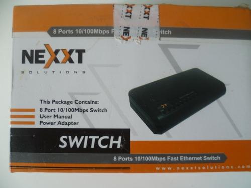 switch nexxt 8 puertos