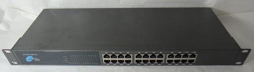 switch noganet 24 bocas 10/100 mpbs liquido