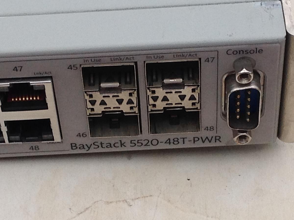 Switch Nortel Baystack 5520 48t Pwr Poe Gigabit Capa 3