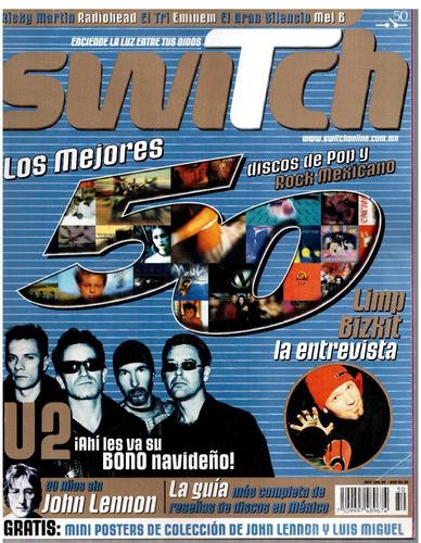 switch núm.50 los mejores discos de pop y rock mexicano.
