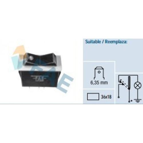 switch o interruptor, pulsador, fae (español) ref. 62320