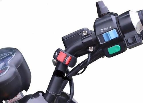 switch para manillar de moto