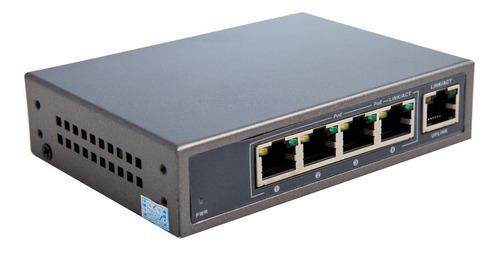 switch poe cctv ip 4 puerto s1004-60 ethernet poe+ 1 uplink