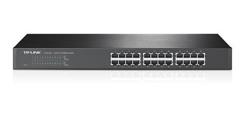 switch rack & desktop tp link tl sf 1024 24 ports ethernet