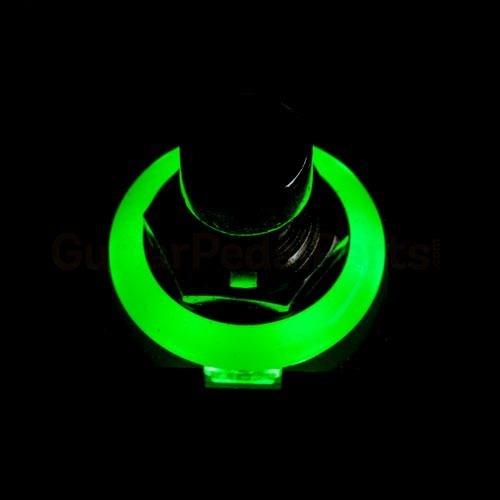 switch retroiluminado 3pdt para pedales custom y diy - g32x