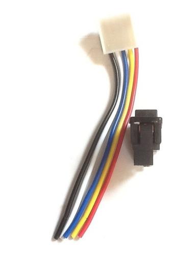 switch subir vidrio universal 5 patas con conector