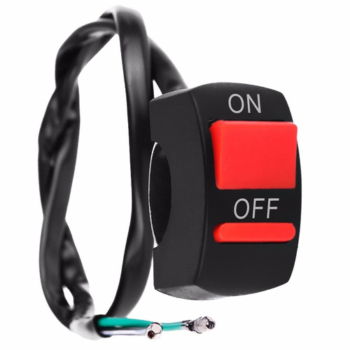 switch - suiche interruptor on / off moto luces exploradoras