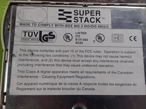 switch super stack ii ps hub 40 de 24 bocas muy bueno!!!