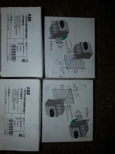 switch swtch breaker abb mod ot80f3 de 3 x80 amperios nuevos
