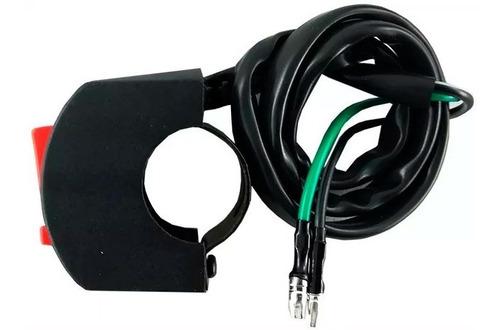switch tecla 2 puntos interruptor faro moto led auxiliar sti