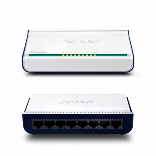 switch tenda s108 ethernet 8 puertos 10/100 mbits
