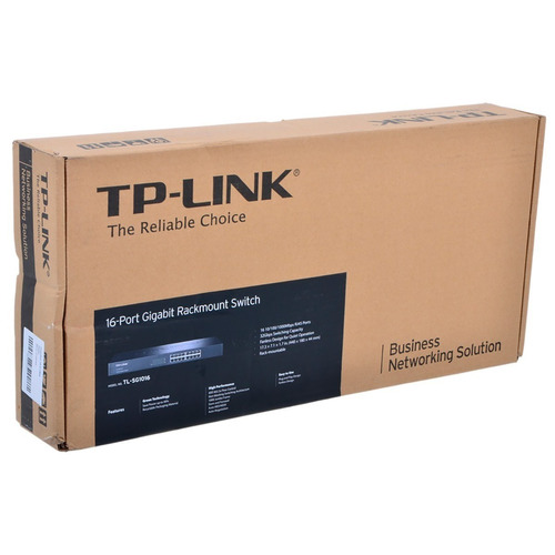 switch tp-link 16 puertos 10/100/1000 tl-sg1016 rack