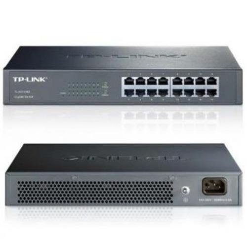 switch tp-link 16 puertos tl-sg1016d10/100/1000-negro