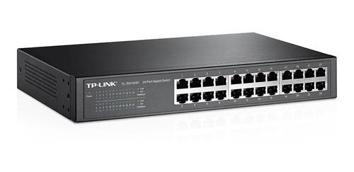 switch tp link 24 ports sg1024d gigalan desktop rackeable