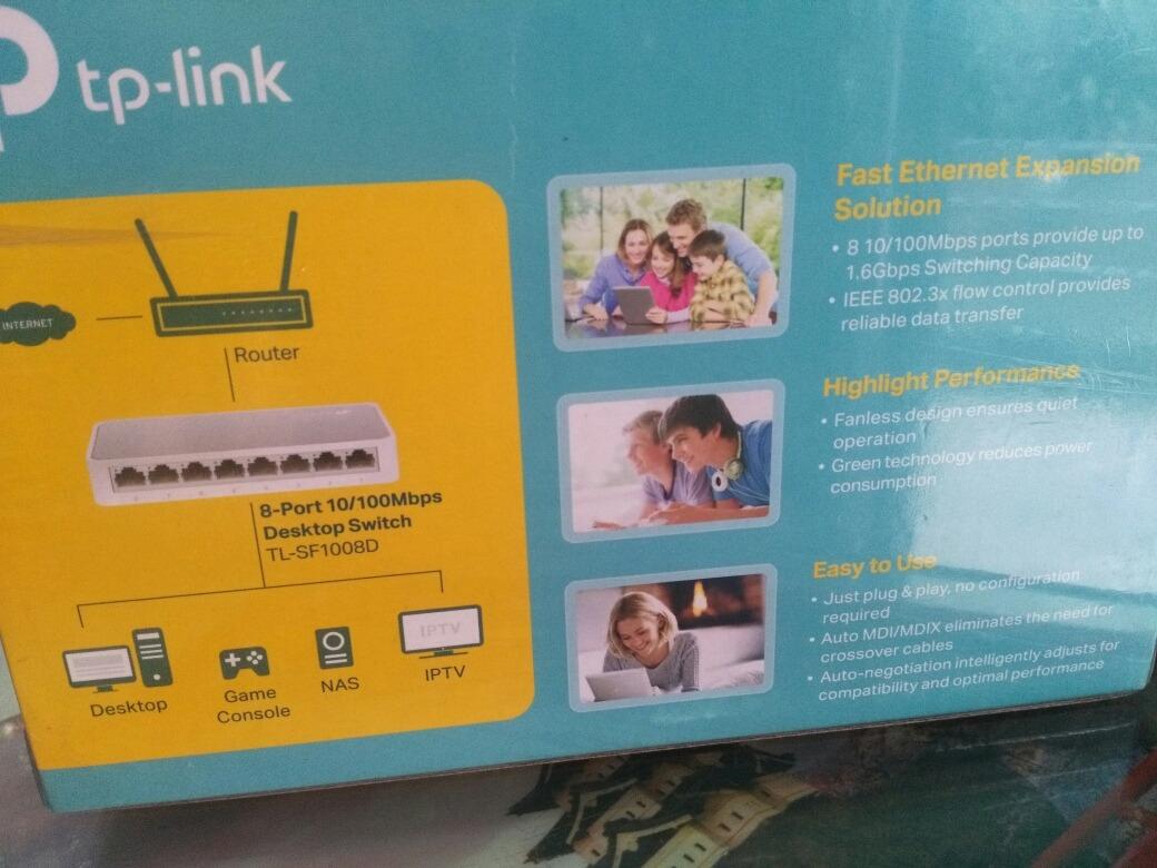Switch Tp Link 8 Port 10 100 Mbps Tl Sf1008d 42000 En Mercado Libre 8port 100mbps Desktop Cargando Zoom