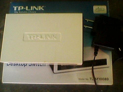 switch tp-link 8-port 10/100mbps tl-sf1008d