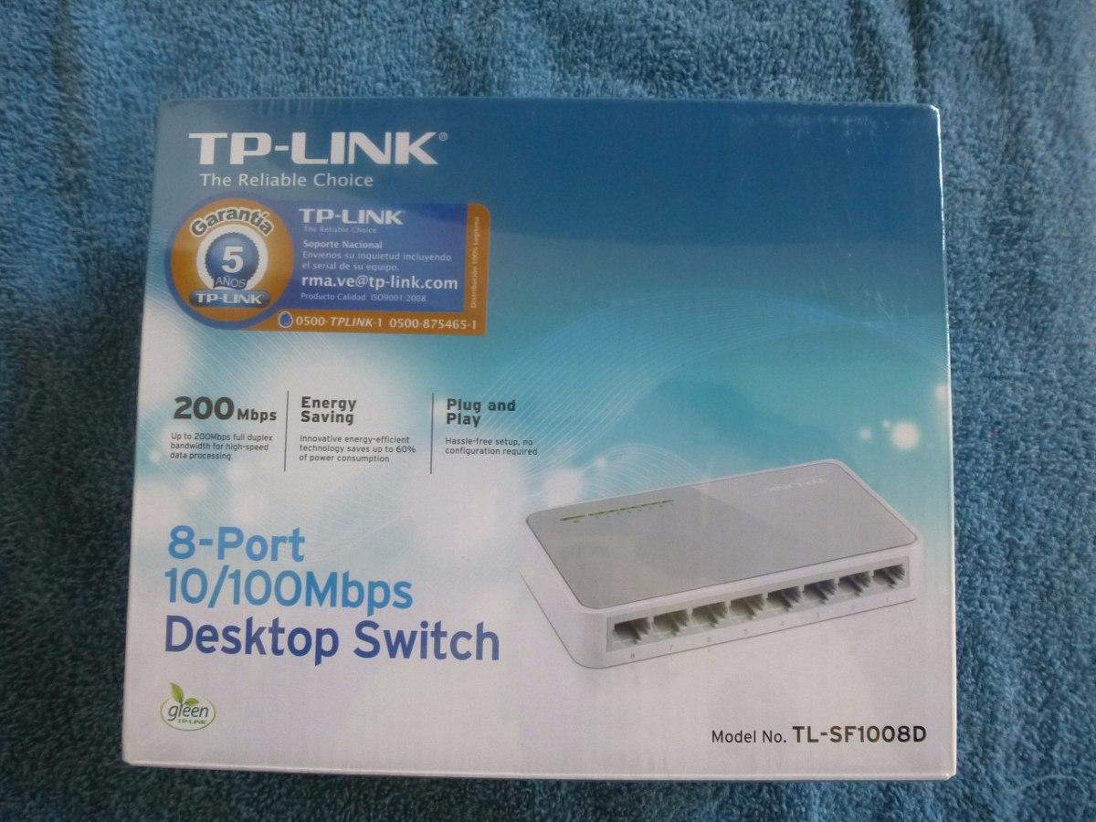 Switch Tp Link 8 Puertos 10 100 Mbps Tl Sf1008d 2500000 Bs 195 8port 100mbps Desktop Cargando Zoom