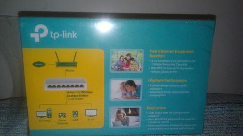 switch tp-link, 8 puertos 10/100mbps