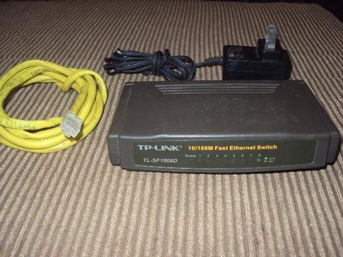 switch tp-link 8 puertos modelo tl-sf1008d