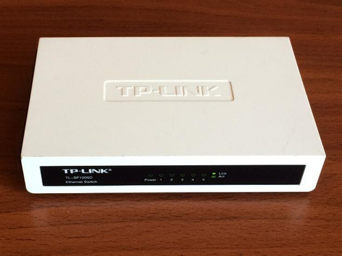 switch tp link de 5 puertos tl-sf1005d 10/100