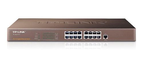 switch tp-link gigabit unmanaged 16+1g tl-sl1117