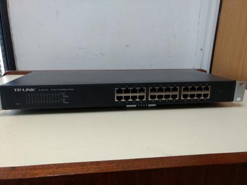 switch tp-link modelo tl-sf1024d 24 puertos
