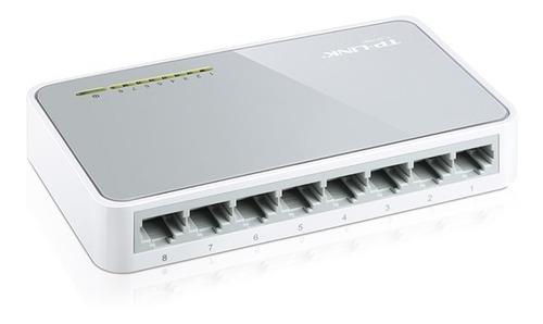 switch tp-link tl sf 1008d 8 bocas 10/100 mbps desktop