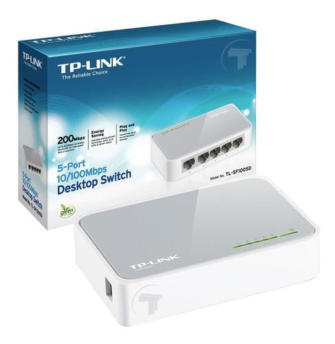 switch tp-link tl-sf1005d 5 puertos ethernet