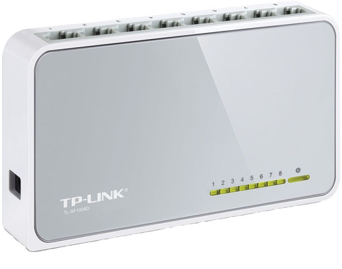 switch tp-link tl-sf1008d 8 puertos / bocas lan 10/100 mbps