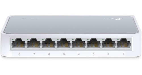 switch tp link tl sf1008d 8 puertos / bocas lan 10/100 mbps